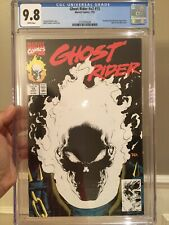 Ghost Rider V2 #15 CGC 9.8 🔥1st Glow In The Dark Cover🔥 Marvel 1991 L@@K