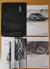 GENUINE AUDI A4 2007-2011 SALOON HANDBOOK OWNERS MANUAL MMI WALLET PACK D-617