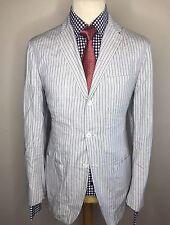 Polo by Ralph Lauren homme rayé à encolure blazer 100% Coton Moderne Fit: Large