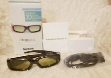 SAINSONIC 3D Universal Rechargeable Active Shutter Glasses Panasonic HDTV NIB