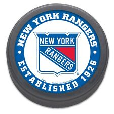 New York Rangers Date Established Collectible NHL Puck By Wincraft