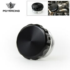 """2""""/50.8mm Aluminum Weld On Filler Neck And Cap Oil Fuel Water Tank Alloy Black"""