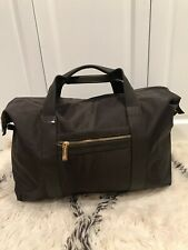 Pace Rabanne Extra Roomy Brown Travel Duffle Bag, Gym Handles , New