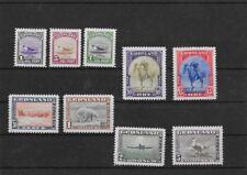 Greenland Stamps # 10-18 VF OG NH