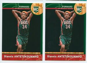 2013-14 Panini Giannis Antetokounmpo RC Rookie Lots*2