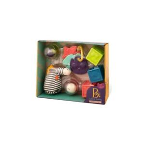 Baby B Sensory Toys 7 Piece Set Wee B. Ready from 0+ New