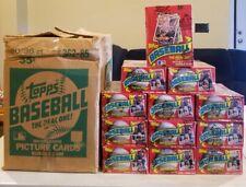 1985 Topps Baseball Wax Box 36 Sealed Packs Mint Unopened BBCE Authentic PSA ?