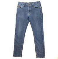 ORIGINAL PENGUIN Mens Size 32 x 32 Blue Jeans || Slim Fit