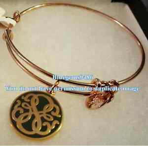 Alex and Ani Color Infusion Path of Life Bangle Shiny Rose Gold - Discontinued