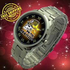 Monster METAL MULISHA Army Kawasaki DC Ken MMA Subaru No Fear Energy Rock Watch