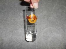 ( SG2 ) SHOT GLASS - HARD ROCK CAFE - NIAGARA FALLS -  BLACK  IMPRINT