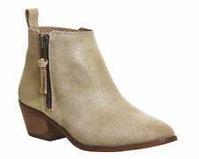 Office Zip Ankle Boots for Women