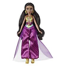 Disney Princess Jasmine Fashion Doll with Gown, Shoes, & Accessories, Inspire...