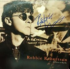 ROBBIE ROBERTSON Autographed!! RARE signed  LP!! MAKE an OFFER for this Legend!