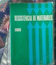 RESISTENCIA DE MATERIALES - SINGER