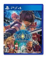 Used PS4 Star Ocean 5 Integrity and Faithlessness Import Japan