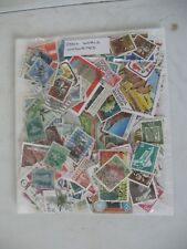 SPECIAL OFFER, 250+ WORLD STAMPS, OFF PAPER , UNSORTED, REDUCED POSTAGE