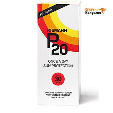 Original Riemann P20 Once a Day 10 Hours Protection Spray SPF30 Sunscreen 200ml
