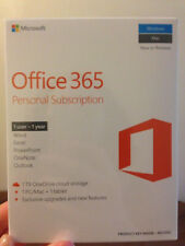microsoft office 365 1 year personal subscription