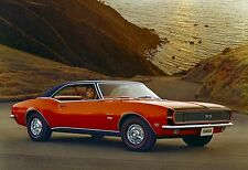 1968 CHEVY CAMARO RALLY SS POSTER 24 x 36 INCH   AD   ONE OF A KIND!