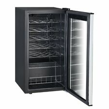 Smad Silent 28 Bottle Single Zone Touchscreen Wine Refrigerator Under-Counter