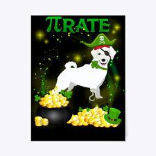 "Kuvasz Pi Day St Patricks Gift Poster - 18""x24"""