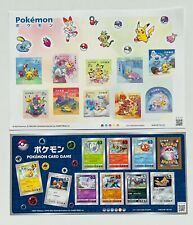 More details for pokémon japanese sheet of stamps official pokemon collectors item uk seller