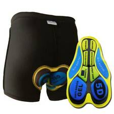 Gel 3D Padded Men Women Cycling Underwear Bicycle Riding Shorts Black Pants 88