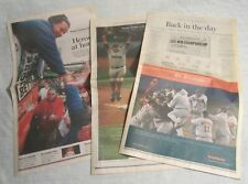 BOSTON RED SOX -- 2004 Fan Book, World Series Papers & Team Photo + Ted Williams