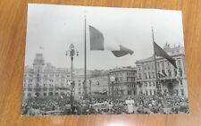 CARTOLINA ILLUSTRATA DI TRIESTE -5 OTTOBRE 1954 VIAGGIATA