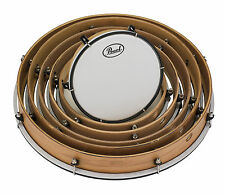 Pearl Frame Drum Set w/Lugs & Coated Heads - PFR0818C