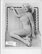 Cleo Moore busty leggy RARE Photo