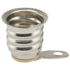 E12 Support Lampe avec Soudure étiquettes 2 pièces ROHS conforme OM314
