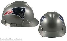 "MSA V-Gard Cap Type New England Patriots NFL Hard Hat ""RATCHET"" Suspension"