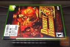Dynasty Warriors 3 (Xbox 2002) FACTORY SEALED! - RARE! - EX!