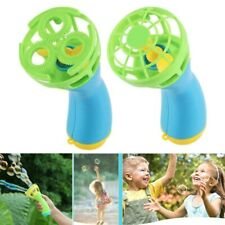 Bubble Blower Gun Summer Funny Bubble Maker Mini Fan Kids Outdoor Toy Gift