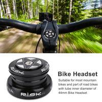 Threadless Semi-Intégré Casque Straight Steerer Jeu de Direction  Bike Headset