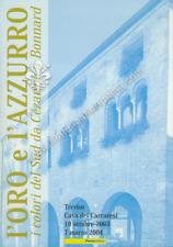 """068 Folder filatelico """" L'ORO E L'AZZURRO """" 2003"""