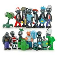 16 Plants vs Zombies Series Game Role Mini Figures Display Toy Doll Gift PVC AU