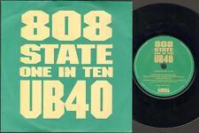 "808 state UB40 uno su dieci 7"" PS, 808 7 POLLICI/Ub40 vocali, Zang 39 4509-91451 -7 (V"