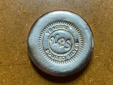 More details for yeagers poured silver (yps) hand poured 5 oz button .999 silver bullion
