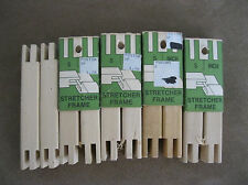 HOWELL 5 SETS wood STRETCHER BARS size 5 Art Crewel Needlepoint Embroidery
