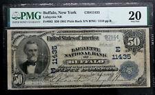 1902 $50 PB BUFFALO, NY LAFAYETTE NB PMG 20 VERY FINE CH 11435