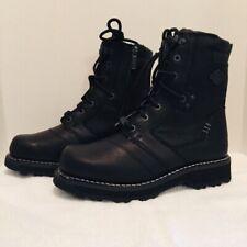 Harley Davidson Jay 7-Inch Black Motorcycle Boots Men's Size 8 NIB Lace Up