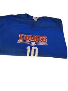 Gildan T Shirt NY Giant Manning #10 (2XL)