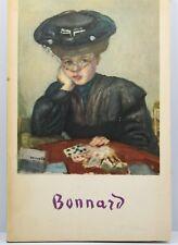 Antique BONNARD by Claude Roger-Marx, 24 Art Plate Prints Lithographs Paris 1950