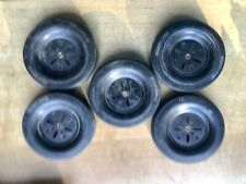 VINTAGE MECCANO Large Tyres On 3 Inch Pulleys