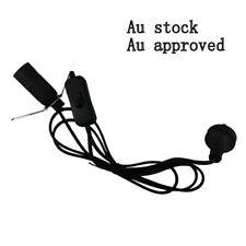 Free 2 X E14 15w globe 2 x black Salt Lamp power cord Au approved 1.8M