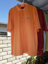 Mens Large Shirt_ANGELES NATIONAL GOLF CLUB_Monterey_Polyester/Spandex_Orange_L