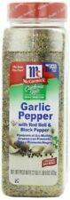 McCormick California Style Garlic Pepper 22 Oz